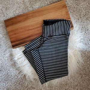 Lululemon Wunder Under Parallel Stripe legging